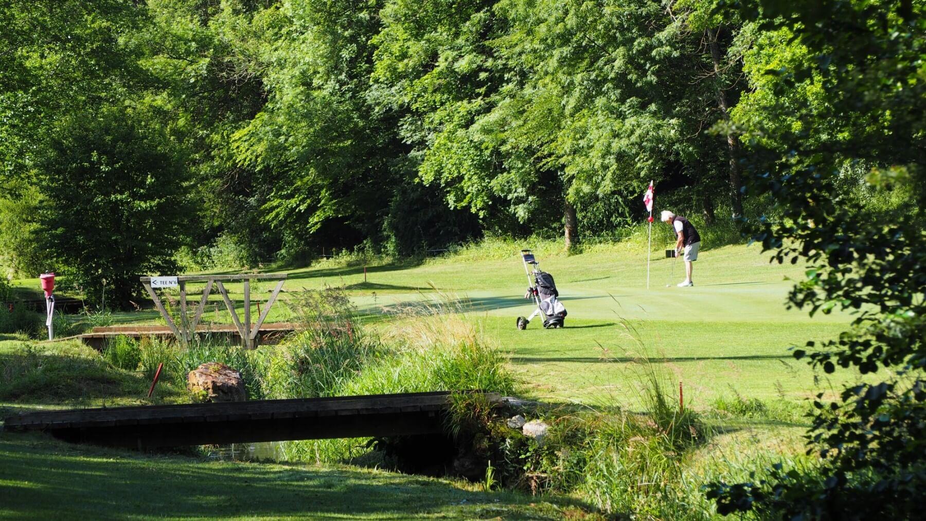 Un séjour de golf en pleine nature